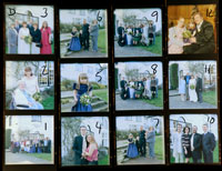 wedding contact sheet D
