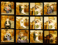 wedding contact sheet E